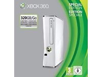 Xbox 360 white S 320GB HD special edition