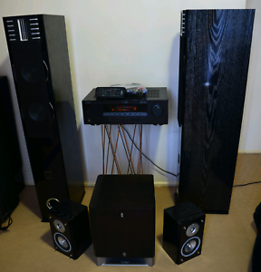 Yamaha Amplifier, powered sub & speakers Waterford West Logan Area Preview