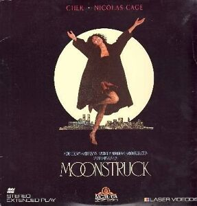 Moonstruck Laserdisc-Academy Award Winning Film