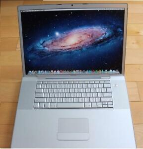 MACBOOK PRO 17'' C2D 2.33GHZ 4GB 1TB RADEON + FINAL CUT PRO X+ LOGIC PRO X +  MASTER SUITE DE ADOBE CS6
