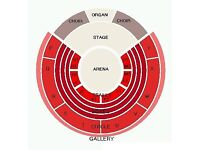 Kasabian Tickets x2 Circle T Royal Albert Hall Saturday 24th March £299