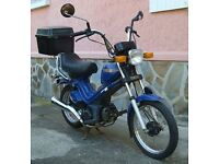 Collector's Yamaha moped MS50E. One owner since 1986. Excellent condition. Runs well.