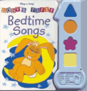 Baby's First Bedtime Songs (Babys First Song Book),  | Hardcover Book | Acceptab