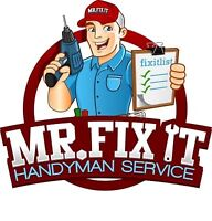 Handyman Services no Job too Big or Small! One call does it all!