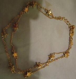 Gold Plated Star Anklet ***BRAND NEW*** Campbell North Canberra Preview