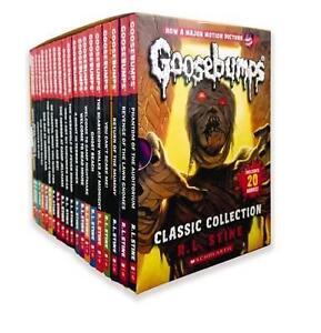 Goosebumps Classic Collection by R. L. Stine - 20 Book Box Set