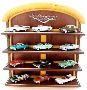 12  Classic Cars of the 50`s - Franklin Mint 1/43- voiture miniature de collection