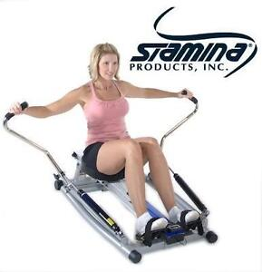 NEW* STAMINA ORBITAL ROWING MACHINE - 107340429 - ORBITAL ROWING MACHINE WITH FREE MOTION ARMS