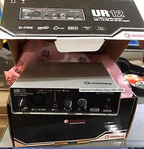 ur12 steinberg audio interface