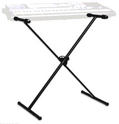 NEW OnStageStand PKBS1 SINGLE BRACED ADJUSTABLE X-STYLE KEYBOARD STAND on Rummage
