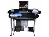 Extendable computer desk