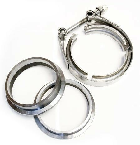 """V-Band Clamp Set 4"""" (101mm) (031-701 1573) Turbo Replacement"""