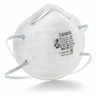 3M Particulate Respirator 8200 N95 20 per box