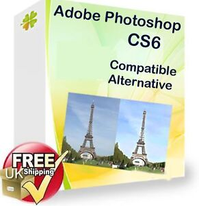 Photo Editing graphics software compatible alternative to Photoshop CS6 CS5 CS4