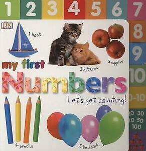 Sirett Dawn-My First Numbers  (US IMPORT)  HBOOK NEW