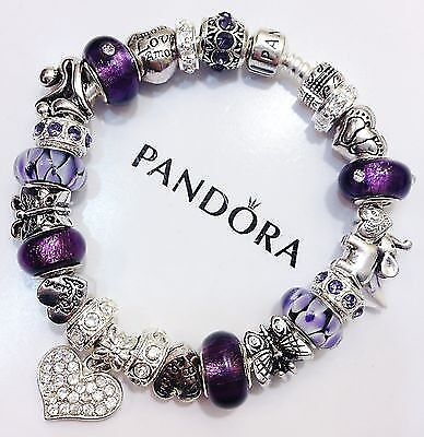 pandora purple passion collection on ebay