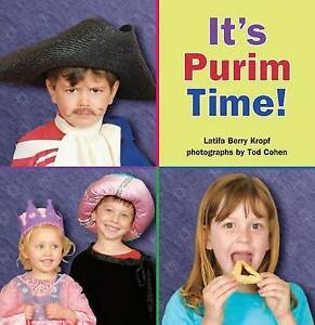 NEW It's Purim Time! by Latifa Berry Kropf