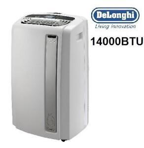 NEW OB DELONGHI AIR CONDITIONER - 124685466 - 14000 BTU PORTABLE