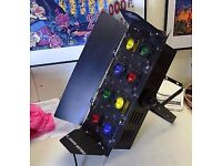 2 x Chauvet Color 8 - Disco lights . Full working order - Disco's,Bands,Clubs,theatre acts etc