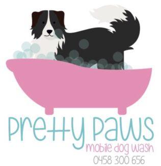 Pretty paws mobile dog wash