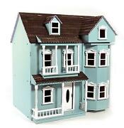 Victorian Wooden Dolls House