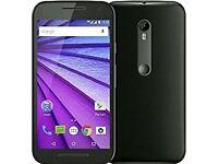 Motorola MotoG 3rd Gen phone-unlocked+free gift