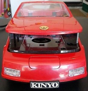 vtg  Kinyo red sports car vhs Video cassette rewinder