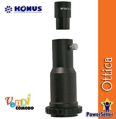 Attacco Fotografico per Microscopio Crystal KONUS 5404 accessori foto microscopi