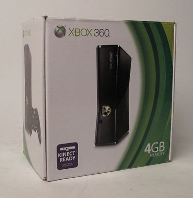 Microsoft XBox 360 4GB Black Console on Rummage