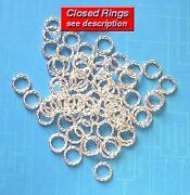 Closed Jump Rings