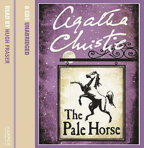 AUDIO-BOOK-UNABRIDGED-6-CD-SET-AGATHA-CHRISTIE-THE-PALE-HORSE-UNUSED