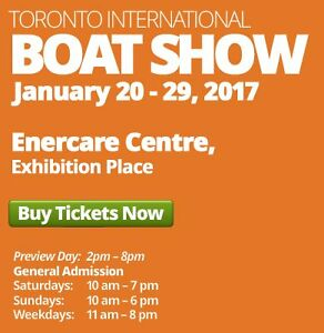 Boat Show Tickets Peterborough Peterborough Area image 1