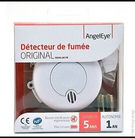 BRAND NEW🔥AngelEye Détecteur de fumée ORIGINAL SO501-AE-FR 🔥 Smoke Alarm 🔥