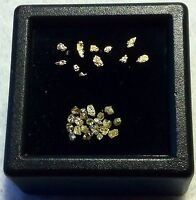 10 mini pépites d or et 12 russian diamonds