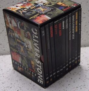 Oliver Stone 10 dvd feature 15 disc set.