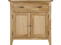 Dearbourne 2 door 1 drawer sideboard - Solid wood