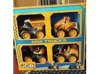 New JCB.mini trucks set.