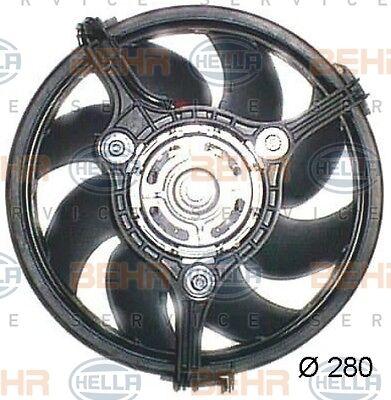 HELLA 8EW 351 044-041 FAN RADIATOR FITS VW PASSAT GENUINE OEM WHOLESALE PRICE