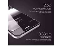 100% GENUINE TEMPERED GLASS FILM SCREEN PROTECTOR FOR APPLE IPHONE 7/ 7PLUS