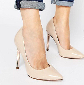 BRAND NEW ASOS NUDE POINTED HEEL