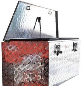 Drawbar Aluminium Tool Box 1250 mm x 470 mm x 530 mm Kallangur Pine Rivers Area Preview
