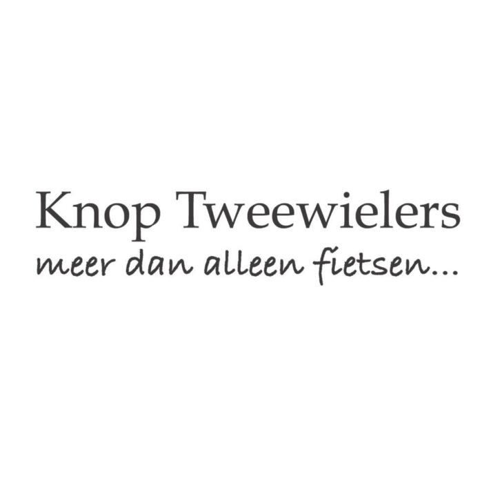 Knop Tweewielers