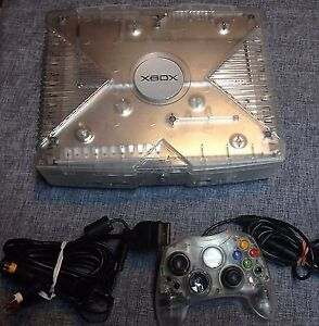 Crystal Xbox, great condition