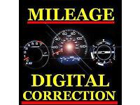 MILEAGE ODOMETER CORRECTION / DIAGNOSTICS / DASH LIGHTS / ERROR CODES