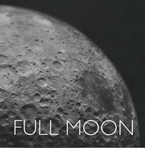 Full Moon, Acceptable, Michael Light, Book