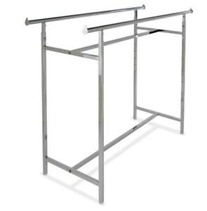 H RACK - BOX RACK - DOUBLE HANGRAIL RACKS - $99