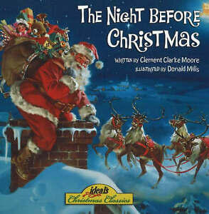 034VERY GOOD034 NIGHT BEFORE CHRISTMAS CLEMENT CLARKE MOORE Book - Durham, United Kingdom - 034VERY GOOD034 NIGHT BEFORE CHRISTMAS CLEMENT CLARKE MOORE Book - Durham, United Kingdom