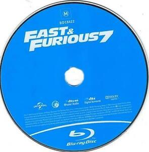the fast and the furious.7 blu-ray movies.for all.
