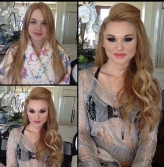 Freelance Professional makeup & hair artist