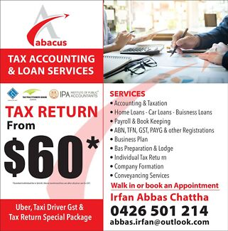 Abacus Tax Accounting And Loan Services